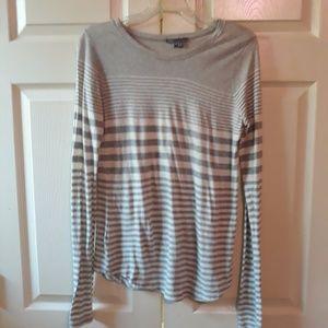 Vince | Striped Long Sleeved Shirt XS